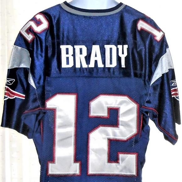 ... 12 Tom Brady NFL Jersey 50. M 5b9d6fb21b32943ee67f64d7 6335151ee
